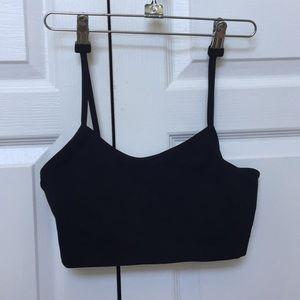 Other - black seamless bra